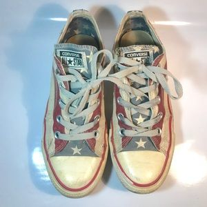 Chuck Taylor Distressed American Flag Converse